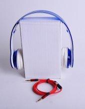 şeffaf, Renkli Katlanabilir Kulaklık + 2 Aux Kablo
