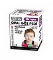 Oval Yapışkanlı Renkli Göz Pedi Çocuk 50 Adet