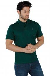 Brango 40100 16 Düz Lakost Yeşil Tshirt