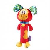 Playgro Squeaker Köpek Çıngırak Peluş Dişlik