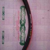 Bisiklet Dış Lastik 700x23 Kırmızı Siyah (H 5128) Hsgl