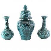 Oğuz Çini Küp Vazo Seti