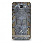 Samsung A9 Kılıf Owl Tanrısı Desenli Kılıf