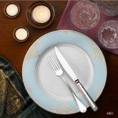 Hisar Kiev 85 Prc Fine Bone Porselen Yemek Tkm