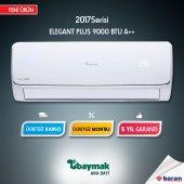 Baymak Elegant Plus 9 A++ 9000 Btu H Yeni Nesil Inverter Klima