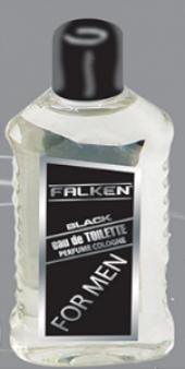 Falken Black Kolonya 200 Ml. (For Men) 3lü Ekonomik Set