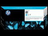 Hp C4951a Plotter 5000 5000ps İçin Mavi Kafa+kafa Temizleyici