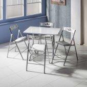 Vural Katlanır Kırma Masa Sandalye Takımı 60x90