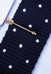 Ok Altın Kravat İğnesi Kıy38