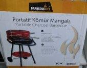 Ayaklı Kömürlü Portatif Mangal Barbekü