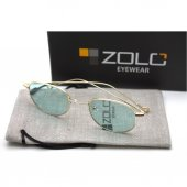 Zolo Eyewear Salinas Round Yeşil 50.22 Güneş Gözlüğü