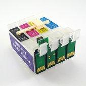 Epson T0711 T0714 Uyumlu Ciss Kartuş 4 Renk