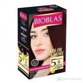Bıoblas Saç Dökülmesine Karşı Saç Boyası 5.5 Açık Kestane Akaju