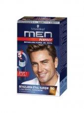 Men Perfect Jel Erkek Saç Boyası 50 Açık Kahve