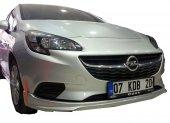 Opel Corsa E 2014 Sonrası Ön Tampon Ek (Plastik)