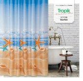 Zethome Tropik Banyo Duş Perdesi 11128 Çift Kanat ...
