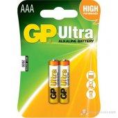 Gp Ultra Alkalin 2li Aaa Boy İnce Pil
