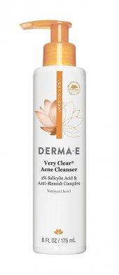 Derma E Very Clear Acne Cleanser Akneli Ciltler İçin Temizleyici