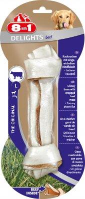 8in1 Beef Delight Bones Large Ağız Bakım Ve Köpek Ödül Kemiği