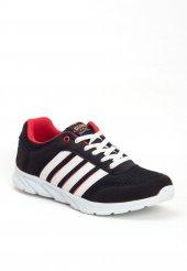 Erb Siyah Fileli Desenli Bayan Spor Ayakkabı