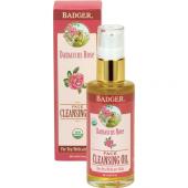 Badger Damascus Rose Face Cleansıng Oıl 59.1ml Makyaj Çıkarıcı Gözenek Temizleyici Gül Yağı