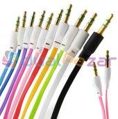 Oto Araç Teyp Aux Ses Bağlantı Kablosu Stereo Kabl...