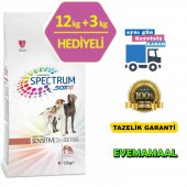 Spectrum Sensitive 26 Kuzulu Köpek Maması 12 + 3 Kg
