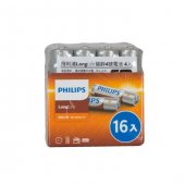 Philips R03l16f 97 Longlife İnce Aaa 16lı Pil