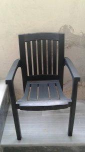 Plastik Bahçe Sandalyesi Yeşil 1 Adet