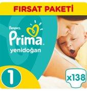 Prima Yenidoğan Fırsat Paketleri 1 Numara 138 Adet 2 5 Kg