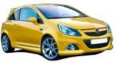 Opel Corsa D 2007 2013 Opc 2 Kapılı (Coupe) Marşpiyel (Plastik