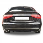Audi A4 B8 Makyajlı Rs4 Egzoz Görünümlü Arka Tampon Eki Difüzör