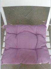 Oturma Takımı Sandalye Minderi 2li Lila