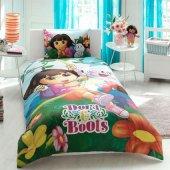 Taç Disney Dora And Boots Tek Kişilik Nevresim Takımı
