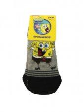 Spongebob Lisanslı Çoçuk Çorabı 8 9 Yaş Siyah
