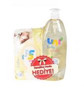 Uni Baby Şampuan 750 Ml+ Uni Baby Sensitive Islak Mendil Hediyeli