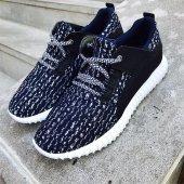 Lacivert Beyaz Renk Günlük Ayakkabı