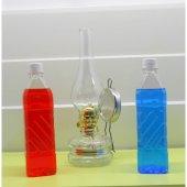 Yakıtlı Gaz Lambası Kırmızı Mavi Renk