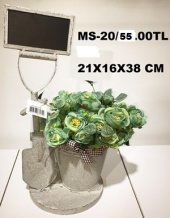 Metal Saksı Ms 20