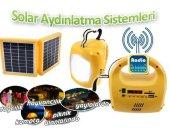 Güneş Enerjili Aydınlatma Sistemi Radyolu