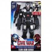 Captain America Avengers Titan Hero Figür Elektronik War Mahine