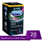 Durex Karşılıklı Zevk 20li Prezervatif