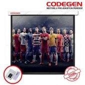 Codegen Ex18 180x180 Motorlu Projeksiyon Perdesi