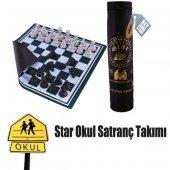 Star Okul Satranç Takımı (45cm) (Çantalı)