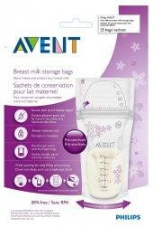 Avent Anne Sütü Saklama Poşetleri 25x180m