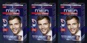 Schwarzkopf Men Perfect Erkek Saç Boyası 70 Koyu Kahve 3 Adet