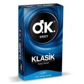O.k Okey Klasik Prezervatif 10 Adet