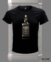 Büyük Beden Jack Daniels Gold Tişört