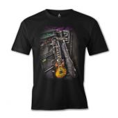 Büyük Beden Guitar Tişört