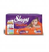 Sleepy Sensitive Maxi Plus 32 Li Bebek Bezi 4+ Numara